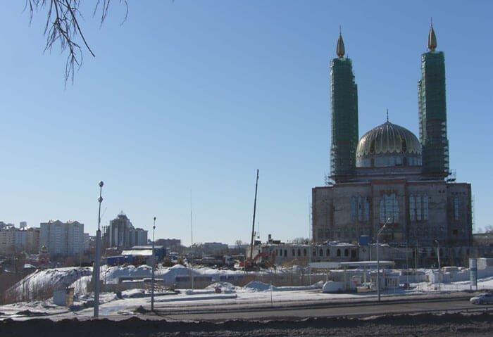 sh106836-2 Мост в Уфе через проспект Салавата Юлаева к строящейся Соборной мечети будут строить за счет мэрии Башкирия Мечеть Ар-Рахим