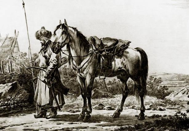 3-0 Башкирская конница в Крымской войне Блог писателя Сергея Синенко Защита Отечества
