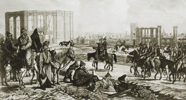 7868605758 Башкирская конница в Крымской войне Блог писателя Сергея Синенко Защита Отечества