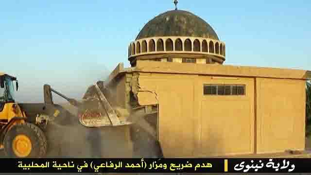 """igil-razrushaet-mecheti-3 ИГИЛ разрушает мечети """"неправильных"""" мусульман Ислам в России Люди, факты, мнения"""