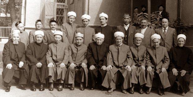 03-3722 ВЕРХОВНЫЙ МУФТИЙ ТАЛГАТ ТАДЖУДДИН Ислам Фигуры и лица