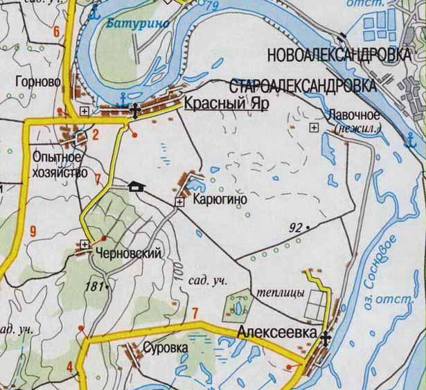 523525 Село Алексеевка Уфимского района Башкирия Посреди РУ