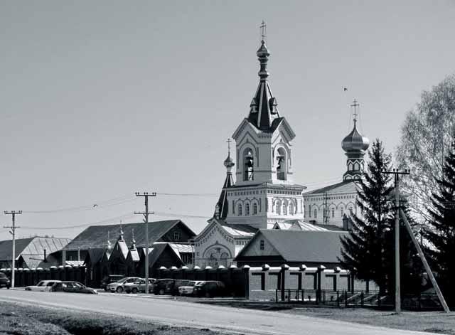 52829291 Удмуртия, село Перевозное, Свято-Успенский монастырь Православие Удмуртия