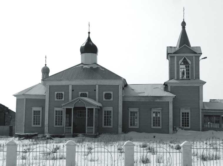 747457 Башкирия: в селе Семено-Петровское сгорела старинная церковь Башкирия Православие