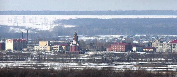 sh106976a Село Алексеевка Уфимского района Башкирия Посреди РУ