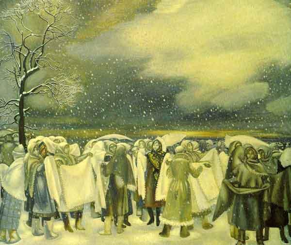 2523465346 Оренбургский пуховый платок в Ясной Поляне Люди, факты, мнения Оренбургская область