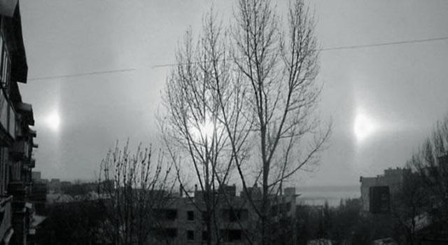 25266 Над городом Кумертау в Башкирии взошли целых три солнца Башкирия Люди, факты, мнения