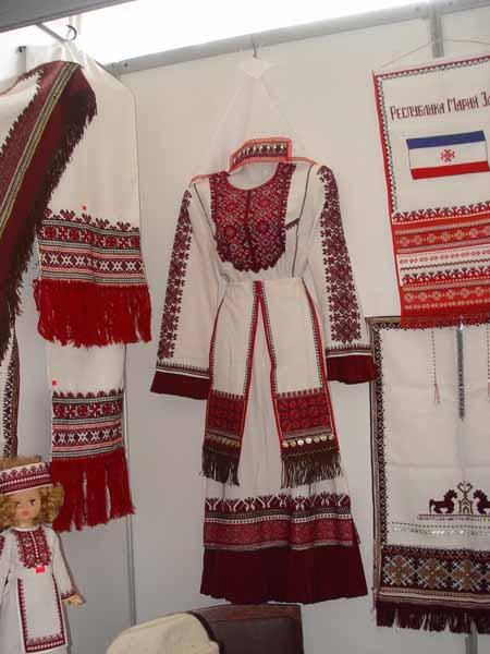 5346347547 Удмуртский национальный узор на выставке в городе Глазов Народознание и этнография Удмуртия