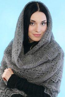 6363575685798 Оренбургский пуховый платок в Ясной Поляне Люди, факты, мнения Оренбургская область