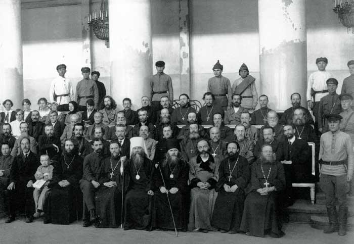 645764642114 Изъятие церковных ценностей в Казани Православие Татарстан