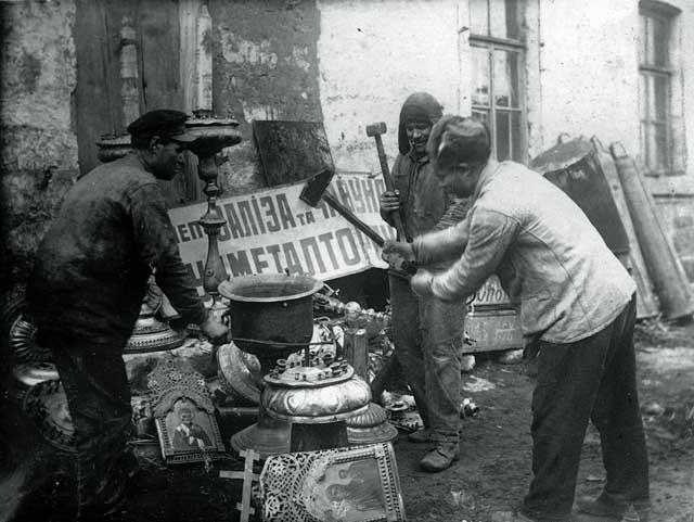 677657568 Изъятие церковных ценностей в Казани в 1920-е гг. Православие Татарстан