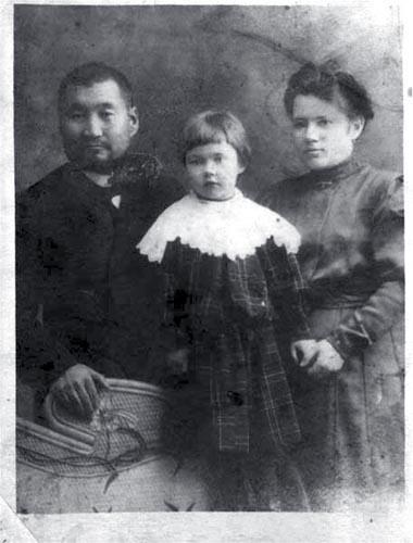 semya-katanovyx-v-1904-godu Востоковед Николай Катанов Татарстан Фигуры и лица