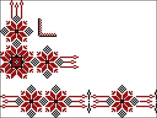 udmurtskij-narodnyj-ornament.4 Удмуртский национальный узор на выставке в городе Глазов Народознание и этнография Удмуртия