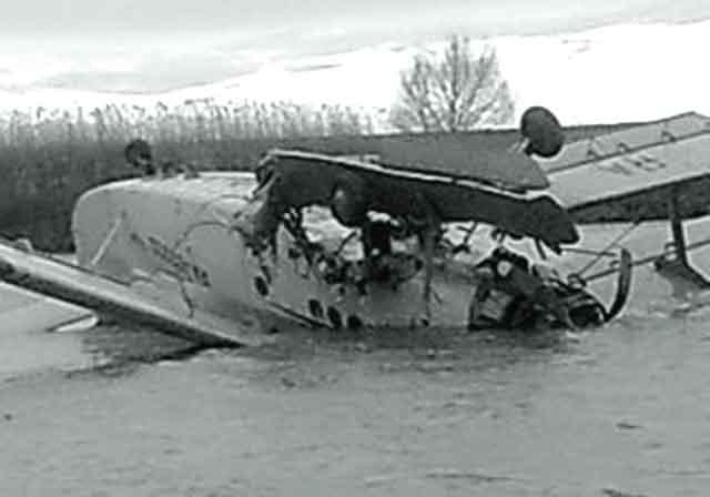 4141255 Пропавший самолет Ан-2, летевший рейсом Стерлитамак - Орск, нашли в болоте Люди, факты, мнения Оренбургская область