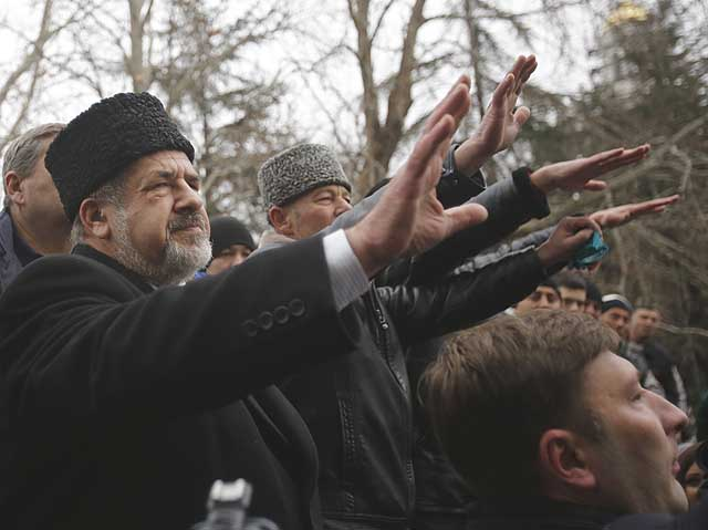 ukraine-protests Дело о запрете Меджлиса крымско-татарского народа Ислам