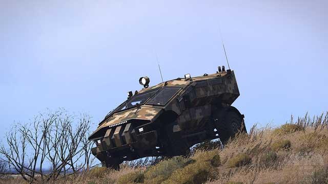 """64674 Бронемашина """"Каратель"""" впервые применена в ходе операции против исламистов Антитеррор Защита Отечества"""