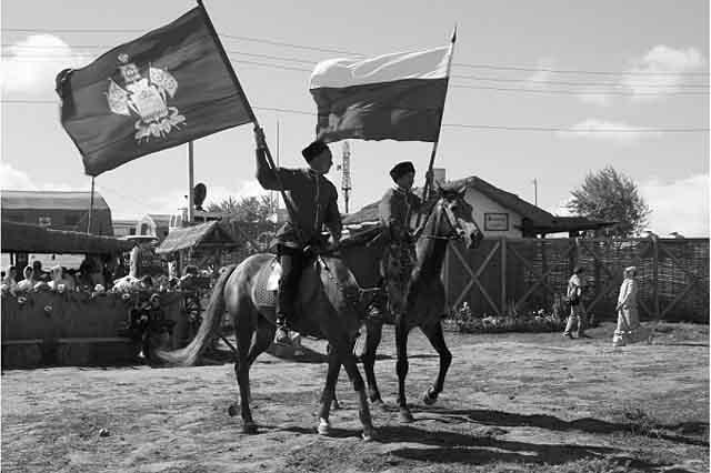 463636 Казаки снова на охране границ Защита Отечества