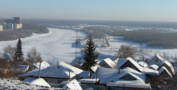 0-106142 Зима в Тужиловке Блог Сергея Синенко