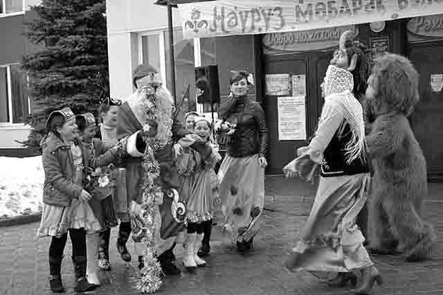574747 Татарские праздники Нардуган и Науруз Народознание и этнография Татарстан