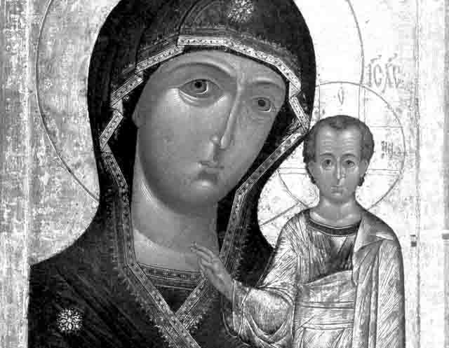 ikona Икона Смоленской Божьей Матери в Казани Православие Татарстан