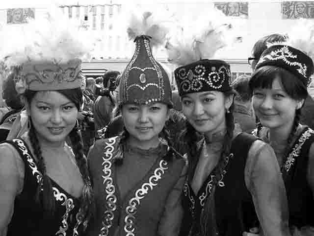 2546 Казахи в Оренбургской области провели фестиваль Народознание и этнография Оренбургская область