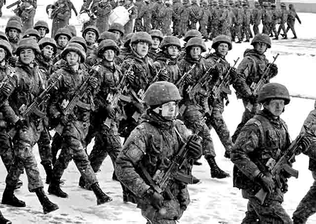 3445 В Самарской области сформирована новая мотострелковая бригада Защита Отечества Самарская область