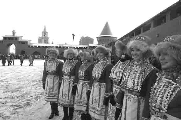 463657 Фестиваль национальных культур в Йошкар-Оле Марий Эл Народознание и этнография