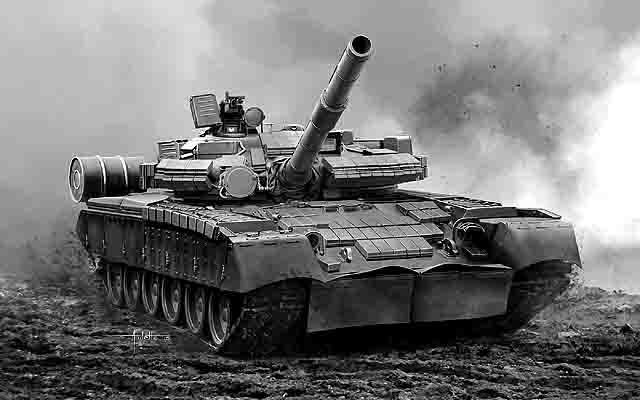 T-80BV Модернизация танков и размещение ракетных комплексов Защита Отечества