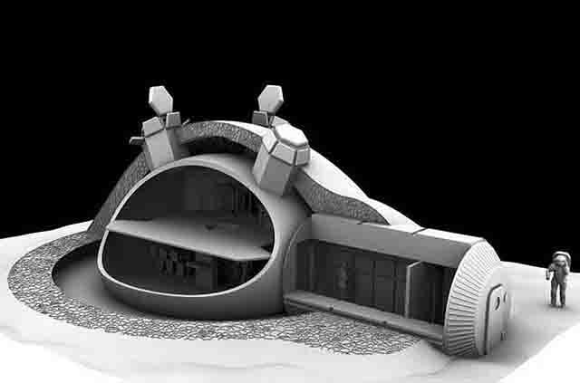 lun555 Как недорого построить дом на Луне? - волнуются ученые из Самары Люди, факты, мнения Самарская область Свой дом