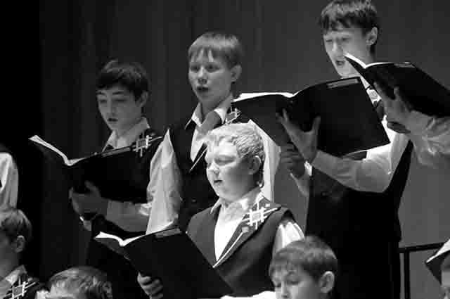 6464 Мужское певческое братство в удмуртской Можге Православие Удмуртия