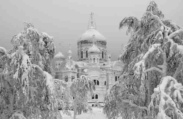 00078676 Белогорский монастырь Пермского края - 120 лет со дня основания Пермский край Православие