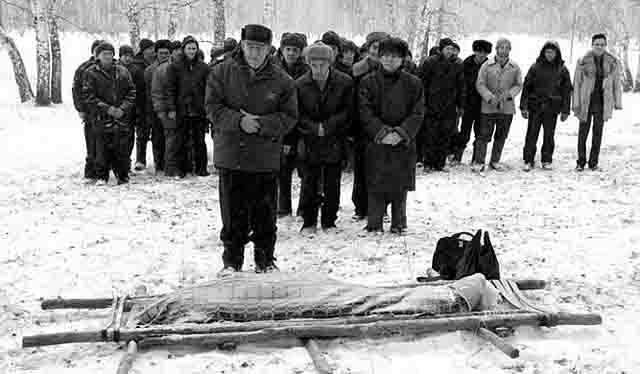 111111-1 Как организованы похороны и поминки у башкир? Башкирия Народознание и этнография