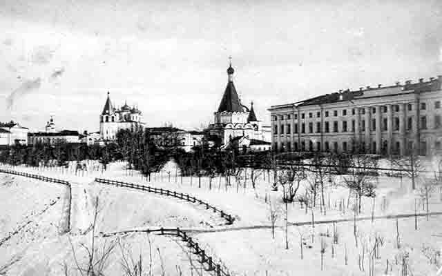 1320833427_1031 В Нижнем Новгороде восстановят разрушенные храмы городского кремля Нижегородская область Православие