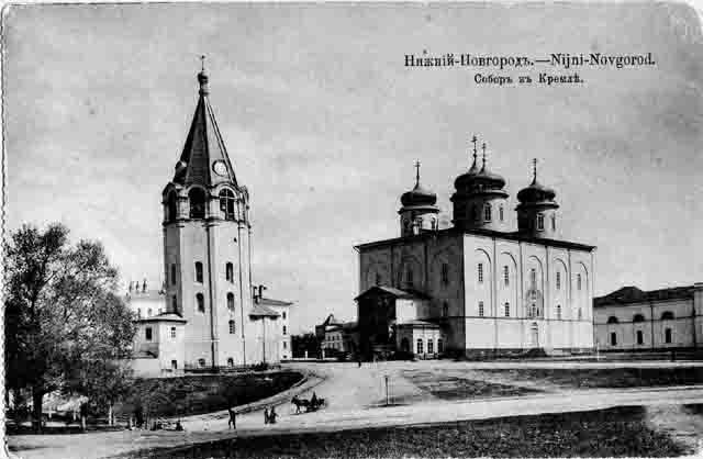 700077 В Нижнем Новгороде восстановят разрушенные храмы городского кремля Нижегородская область Православие