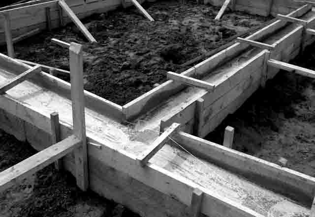 99 Фундамент сельского дома Свой дом