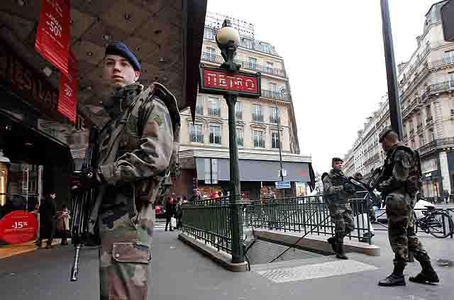 terror Европа в ожидании терактов Антитеррор
