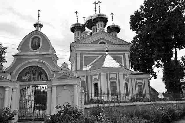 07888 Сретенский храм в Балахне Нижегородской области Нижегородская область Православие