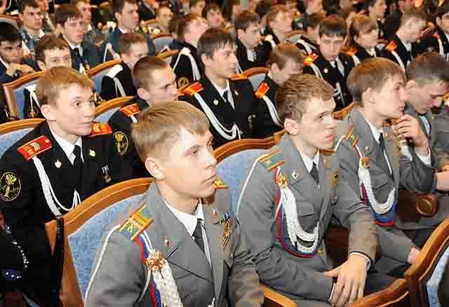 335 Международный слет кадетов в Перми Защита Отечества Пермский край
