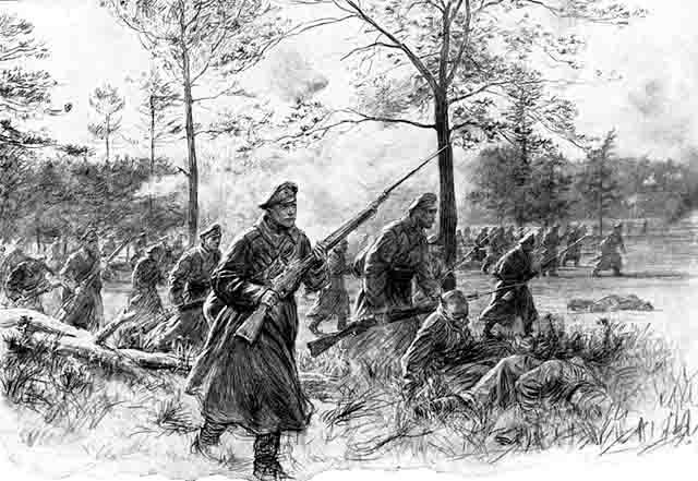 4421 Ближний бой, штыковая атака Защита Отечества