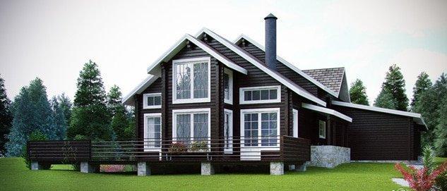 45 Дом в стиле шале Свой дом