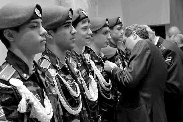 89786 Международный слет кадетов в Перми Защита Отечества Пермский край