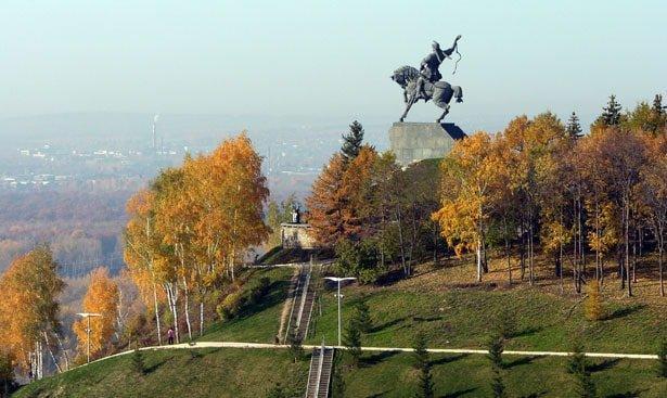 SH10417022 Памятники городские - Уфа от А до Я История и краеведение Уфа от А до Я