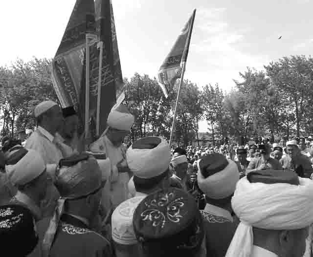 140620080273 Что означают символы и надписи на флаге уфимского ЦДУМ? Башкирия Ислам