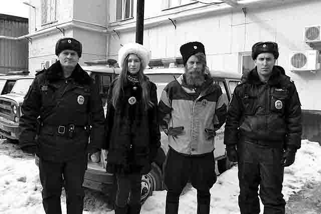 24242342 Казачий патруль в Оренбурге Люди, факты, мнения Оренбургская область