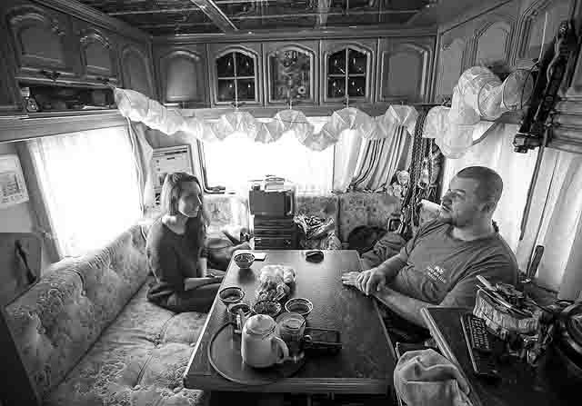 331452 Дом на колесах в Нижнем Новгороде Люди, факты, мнения Нижегородская область Свой дом