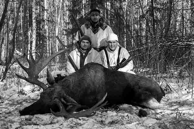 445 Зимняя охота в Оренбургской области Люди, факты, мнения Оренбургская область