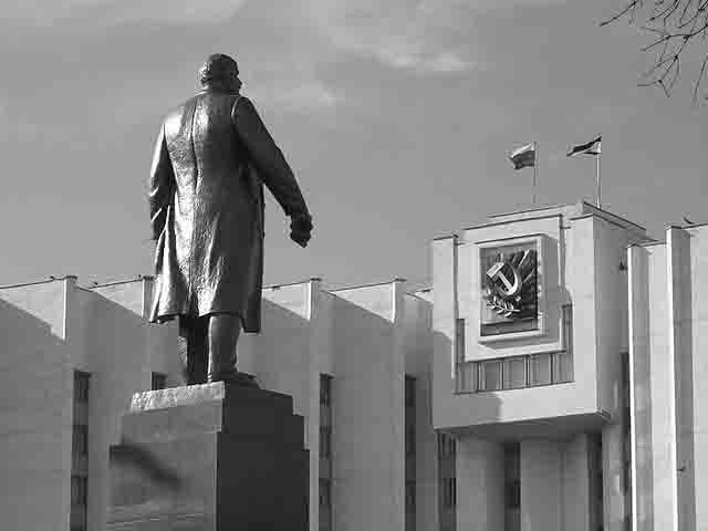 5252467 Названия улиц в Мордовии напоминают эпоху СССР Мордовия Посреди РУ