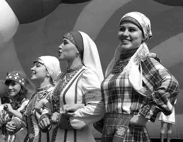 5564 Удмурты в Башкирии Башкирия Народознание и этнография Удмуртия