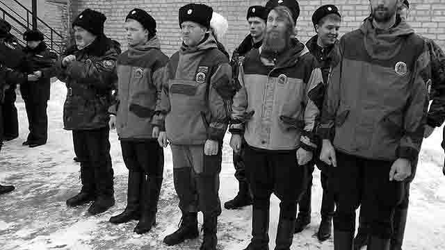 98 Казачий патруль в Оренбурге Люди, факты, мнения Оренбургская область