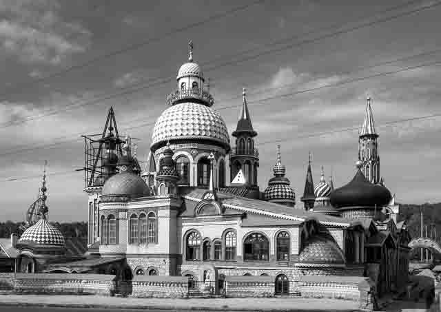 25265 Кто поджег храм всех религий в Казани? Люди, факты, мнения Татарстан